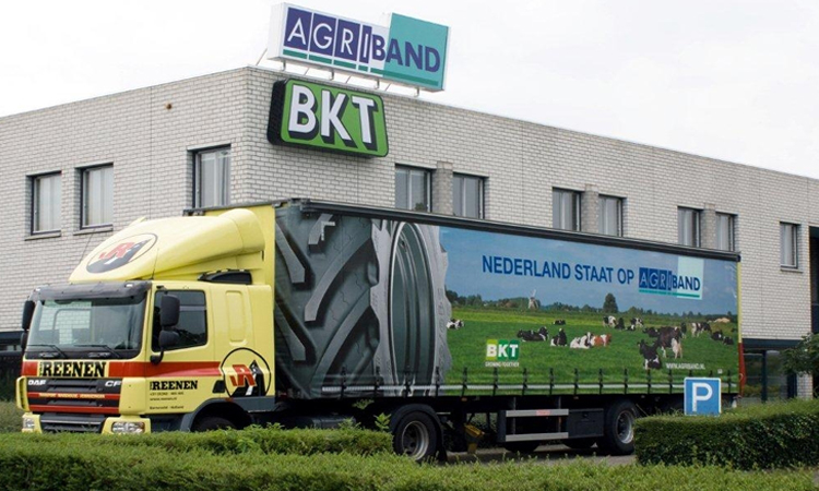 Vrachtauto Agriband