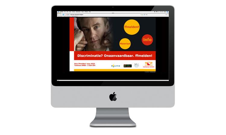 Gemeente Utrecht: Website 'Discriminatie? ffmelden!'