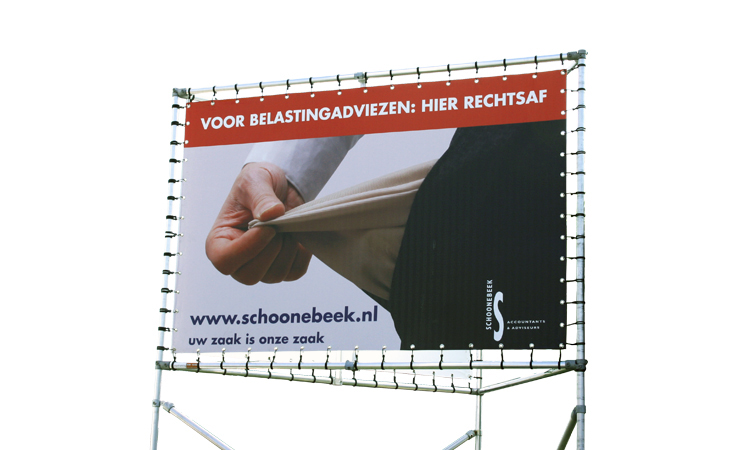 Schoonebeek accountants: billboard