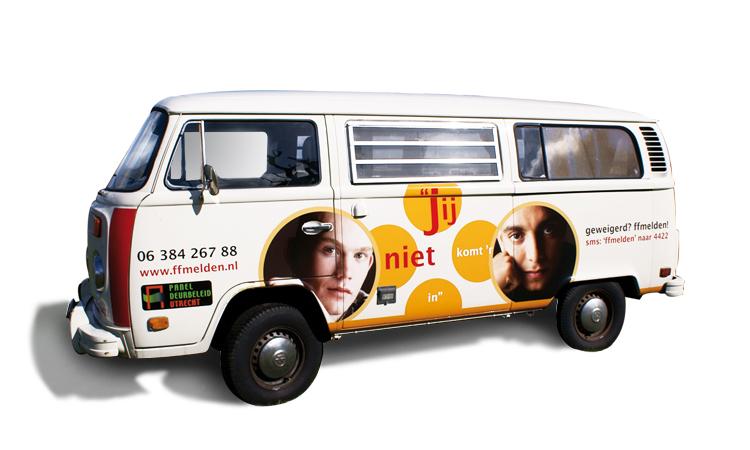 Promotiebus gemeente Utrecht