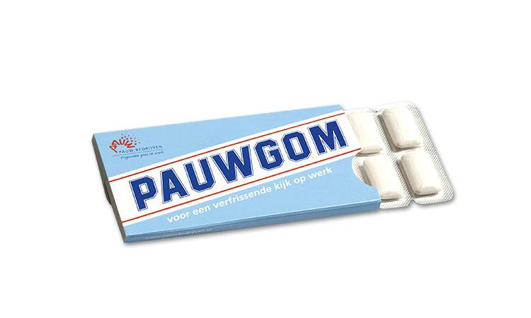 Kauwgom voor PAUW Bedrijven